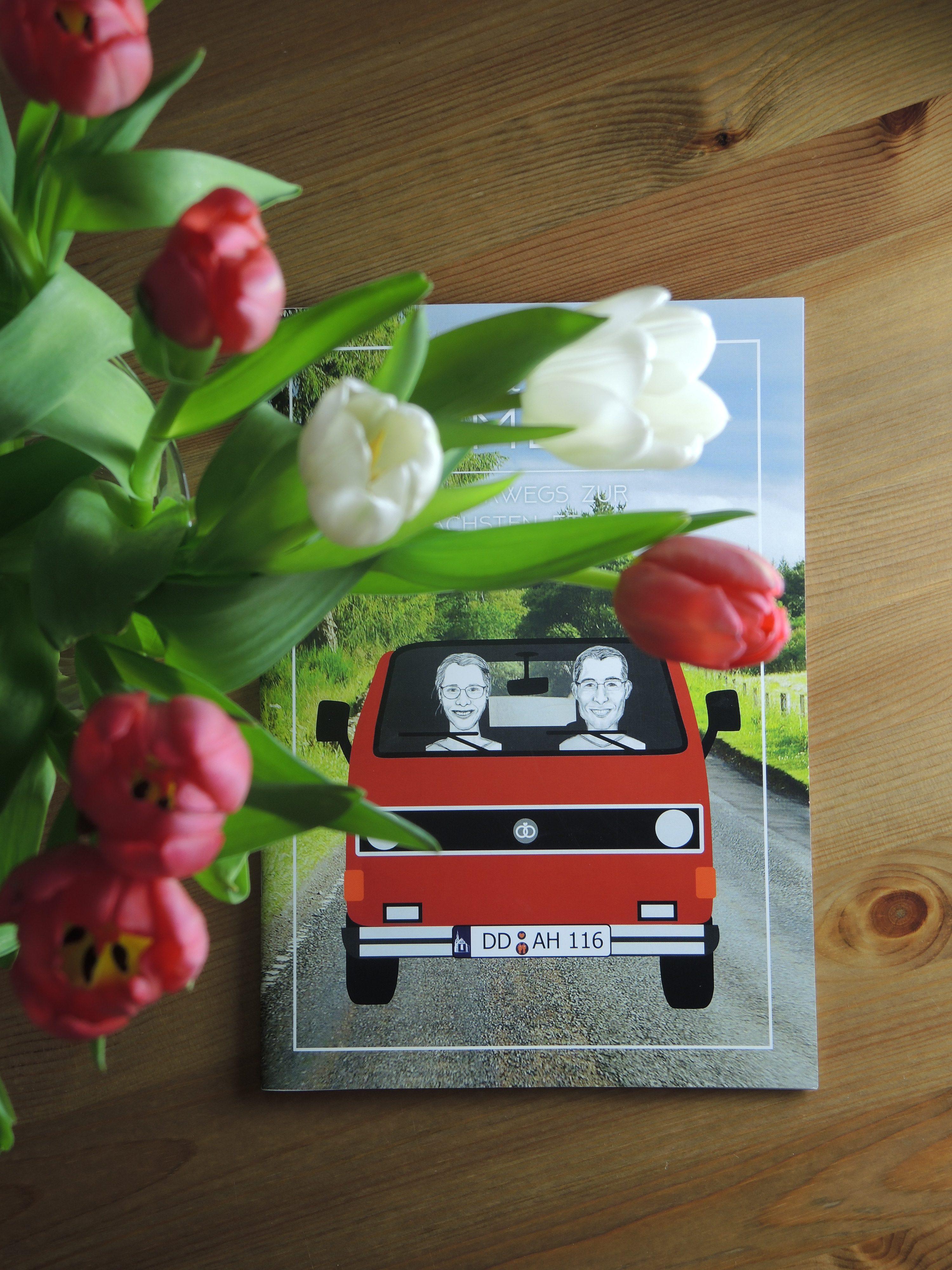 Hochzeitszeitung, Lysann Bohne, Grafikdesign