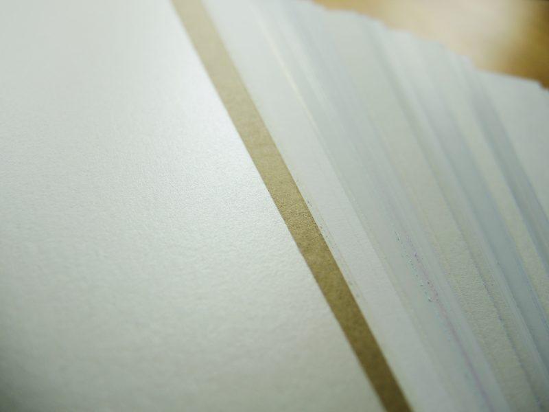 Papierstapel, Haptik