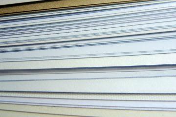 Papier, Haptik, Papierstruktur